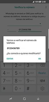 Configuración de Whatsapp - Samsung Galaxy S8 - Passo 9