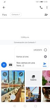 Envía fotos, videos y audio por mensaje de texto - Huawei P30 - Passo 10