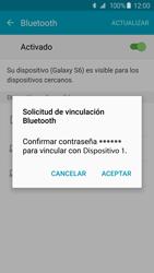 Conecta con otro dispositivo Bluetooth - Samsung Galaxy S6 - G920 - Passo 7