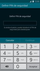 Desbloqueo del equipo por medio del patrón - Samsung Galaxy S5 - G900F - Passo 11
