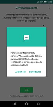 Configuración de Whatsapp - Huawei P Smart - Passo 10