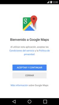 Uso de la navegación GPS - LG G4 - Passo 4