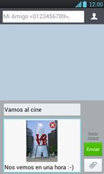 Envía fotos, videos y audio por mensaje de texto - LG Optimus L7 - Passo 17