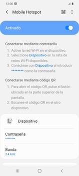 Configura el hotspot móvil - Samsung Galaxy S20 - Passo 12