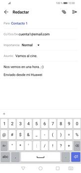 Cómo enviar un correo electrónico - Huawei P30 Lite - Passo 10