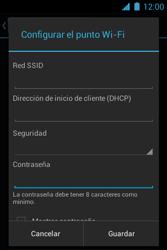 Configura el hotspot móvil - Motorola RAZR D1 XT914 - Passo 9