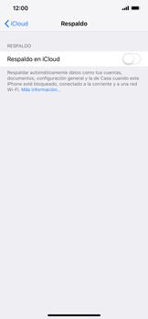 Realiza una copia de seguridad con tu cuenta - Apple iPhone XR - Passo 10