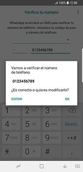 Configuración de Whatsapp - Samsung Galaxy S9 - Passo 9