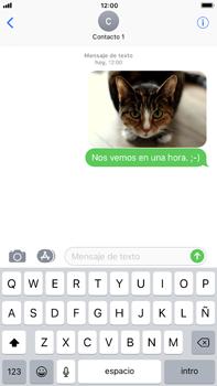 Envía fotos, videos y audio por mensaje de texto - Apple iPhone 8 Plus - Passo 15
