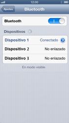 Conecta con otro dispositivo Bluetooth - Apple iPhone 5 - Passo 7
