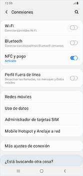 Desactiva tu conexión de datos - Samsung Galaxy A10 - Passo 4