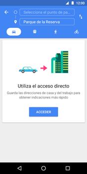 Uso de la navegación GPS - Motorola Moto G6 Play - Passo 10