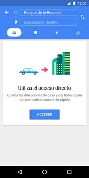 Uso de la navegación GPS - Motorola Moto G6 Play - Passo 11