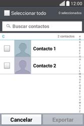 ¿Tu equipo puede copiar contactos a la SIM card? - LG L40 - Passo 7