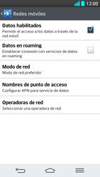 Configura el Internet - LG G2 - Passo 7