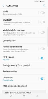 Configura el hotspot móvil - Samsung Galaxy S8+ - Passo 5