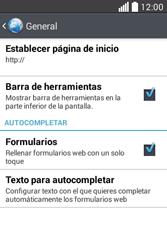 Configura el Internet - LG L40 - Passo 23