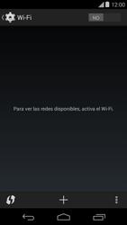Configura el WiFi - Motorola Moto E (1st Gen) (Kitkat) - Passo 5
