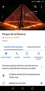 Uso de la navegación GPS - Huawei Y6 2018 - Passo 9