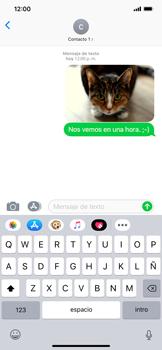 Envía fotos, videos y audio por mensaje de texto - Apple iPhone XR - Passo 14