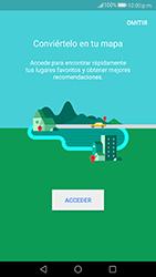Uso de la navegación GPS - Huawei P10 - Passo 4