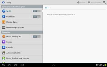 Configura el Internet - Samsung Galaxy Note 10-1 - N8000 - Passo 4