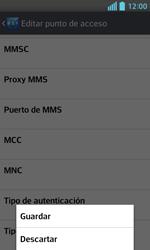 Configura el Internet - LG Optimus L5 II - Passo 15