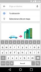 Uso de la navegación GPS - LG X Power - Passo 14
