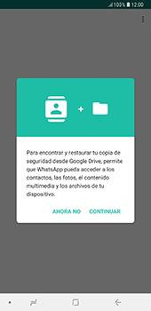Configuración de Whatsapp - Samsung A7 2018 - Passo 7