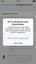 Configura el hotspot móvil - Apple iPhone 5 - Passo 7