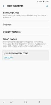 Realiza una copia de seguridad con tu cuenta - Samsung A7 2018 - Passo 5