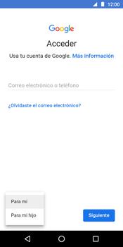 Crea una cuenta - Motorola Moto G6 Play - Passo 4