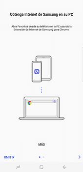 Configura el Internet - Samsung Galaxy S8+ - Passo 22