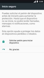 Desbloqueo del equipo por medio del patrón - Motorola Moto C - Passo 7