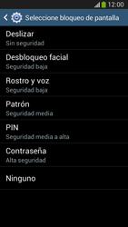 Desbloqueo del equipo por medio del patrón - Samsung Galaxy Zoom S4 - C105 - Passo 8
