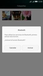Transferir fotos vía Bluetooth - Huawei G Play Mini - Passo 10
