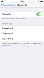 Conecta con otro dispositivo Bluetooth - Apple iPhone 8 - Passo 5