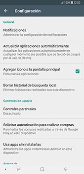 Cambiar configuración de actualizaciones de aplicaciones - Samsung Galaxy Note 8 - Passo 5