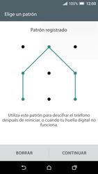 Desbloqueo del equipo por medio del patrón - HTC One A9 - Passo 8