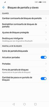 Activa o desactiva el uso del código de seguridad - Huawei Mate 20 Lite - Passo 8