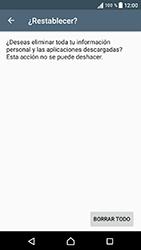 Restaura la configuración de fábrica - Sony Xperia E5 - Passo 7