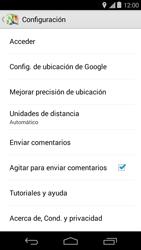 Uso de la navegación GPS - Motorola Moto E (1st Gen) (Kitkat) - Passo 13