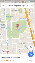 Uso de la navegación GPS - Samsung Galaxy S7 - G930 - Passo 9