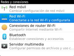 Configura el WiFi - BlackBerry Bold 9720 - Passo 5