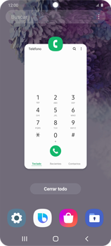 Cómo ver dos aplicaciones a la vez en pantalla - Samsung Galaxy S20 - Passo 4