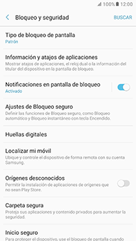 Desbloqueo del equipo por medio del patrón - Samsung Galaxy A7 2017 - A720 - Passo 13