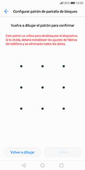 Desbloqueo del equipo por medio del patrón - Huawei Mate 10 Pro - Passo 8