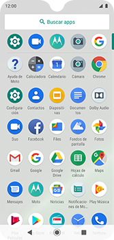 Configura el Internet - Motorola Moto G7 Plus - Passo 3