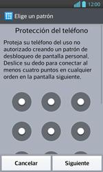 Desbloqueo del equipo por medio del patrón - LG Optimus L 7 II - Passo 7