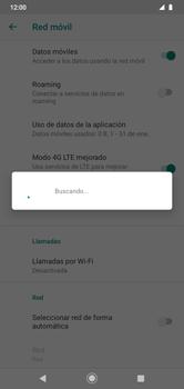 Cómo seleccionar una red en su teléfono manualmente - Motorola Moto G8 Play (Single SIM) - Passo 8